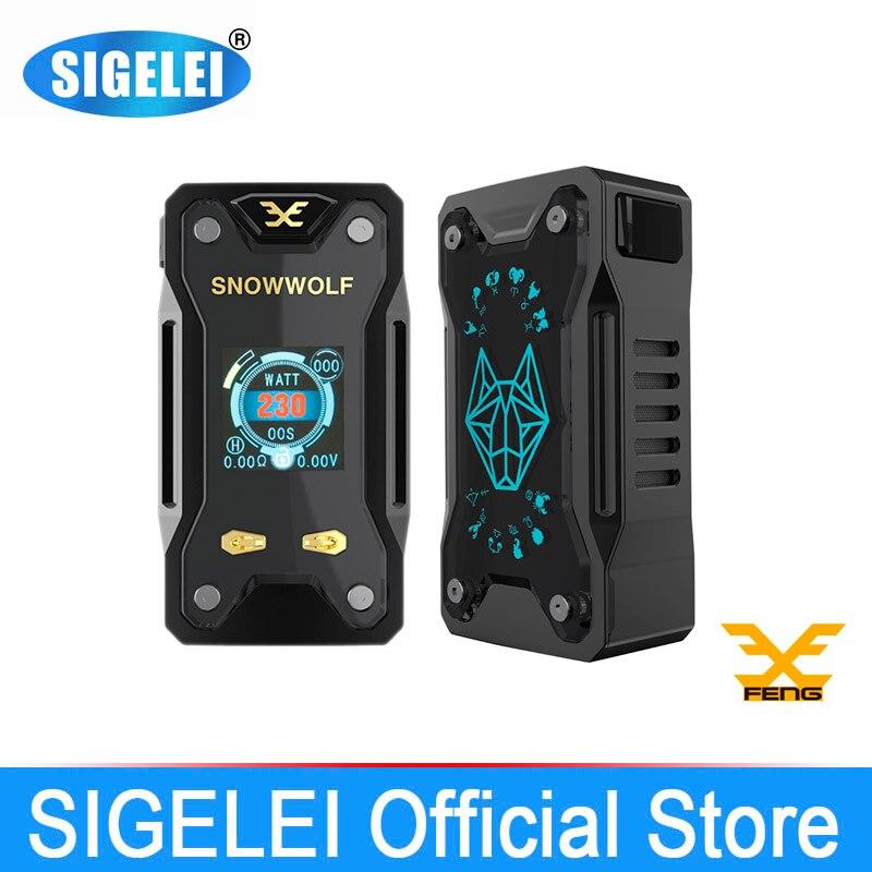 Vape Mod y tanque RDA Kit de cigarrillo electrónico SIGELEI snowwolf - Cigarrillos electrónicos