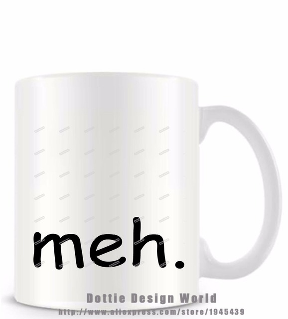 Meh funny novelty travel coffee mug white milk tea cup personalized meh funny novelty travel coffee mug white milk tea cup personalized birthday easter gifts for men negle