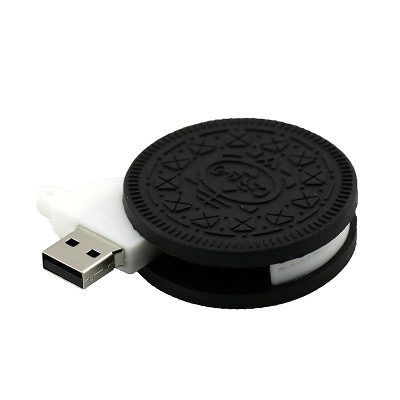 Usb Flash Drive Cartoon Oreo Biscuits Model Pen Drive Ice Cream Chocolate 2.0 Usb Stick Pendrive 8g 16gb 32gb Flash Memory Stick