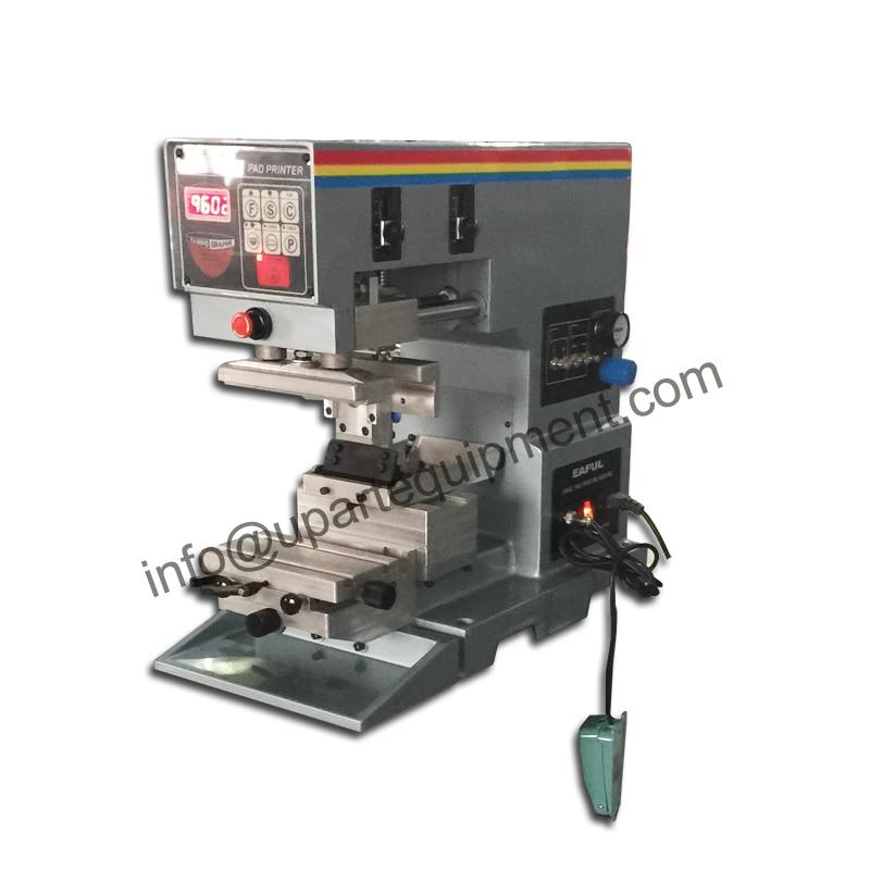 tabletop 1-color winon pad printing machine double broadsword ceramic ring for winon pad printing machine