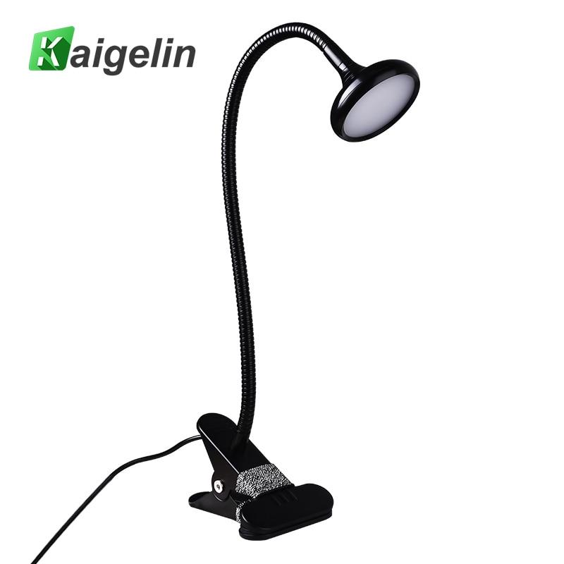 Led asztali lámpa USB-klip fény Lampara LED-es asztali lámpa - Beltéri világítás