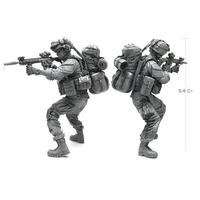 Tobyfancy 1/35 moderno u. s fuerza especial del ejército C Militar ...