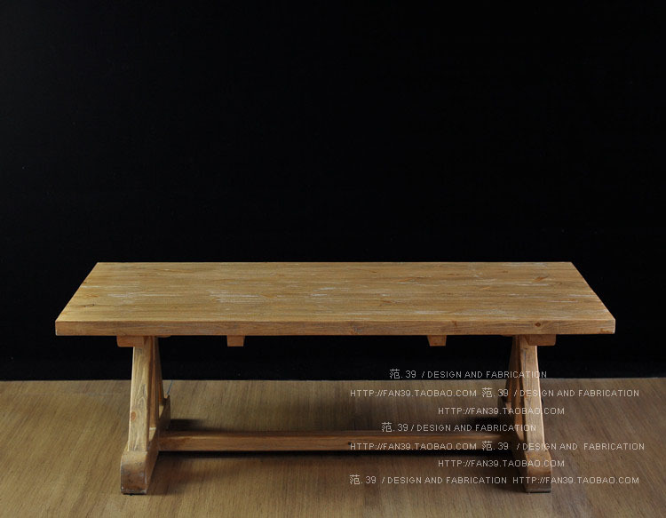 American country to do the old retro rural wood dining table dining table,  solid wood dining table rectangular conference table