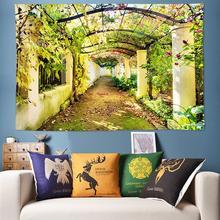цена на Private Garden 3D Tapestry Bohemia Hippie Tapestry Wall Hanging tapiz pared tela Wall Boho Decor Mandala Tapestry Art Tapisserie