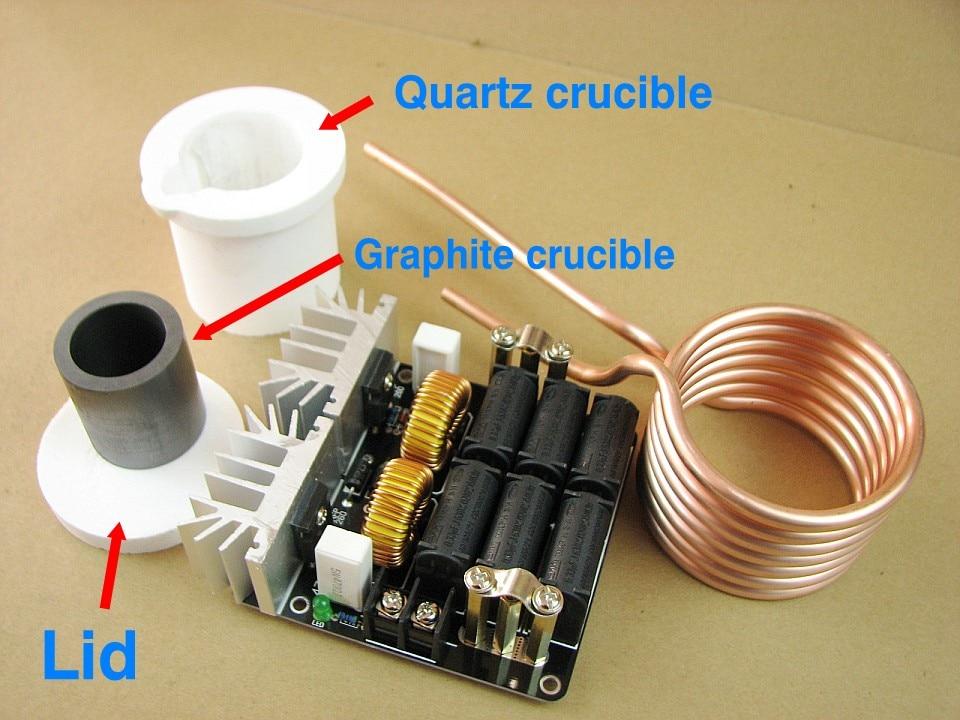 Oyuncaklar ve Hobi Ürünleri'ten Bloklar'de Erimiş metal ZVS endüksiyon ısıtıcı Yüksek frekanslı ısıtma makinesi Gerekir getirmek için kendi güç DIY Beyin eğitim Oyuncak'da  Grup 2