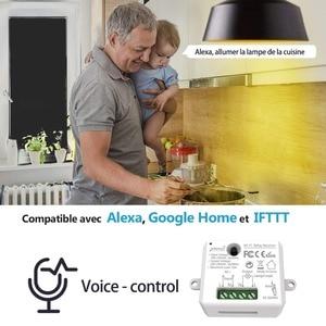Image 3 - Tuya Vida Inteligente WiFi Tomada Interruptor módulo de Relé Disjuntor controle remoto google Casa Echo Alexa tomada de luz de automação residencial inteligente