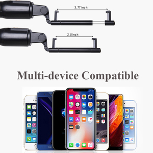 Image 5 - 3 in 1 Wireless Bluetooth Phone Hold Mini Selfie Tripod with Remote Control For iPhone X 8 7 6s plus Portable Monopod