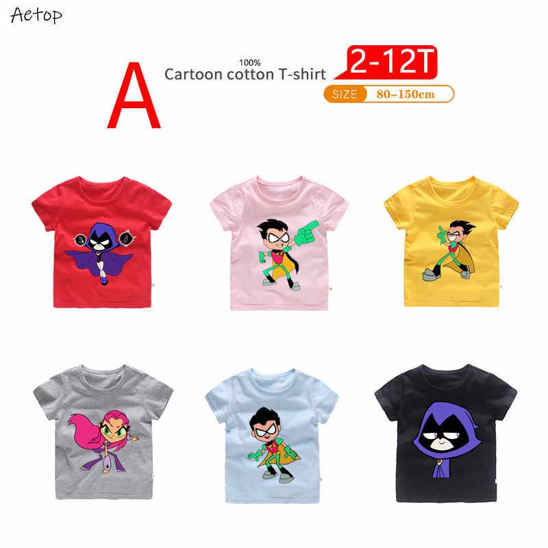 Детская забавная футболка с рисунком; Детские Летние повседневные топы; милая одежда для маленьких мальчиков и девочек; b213