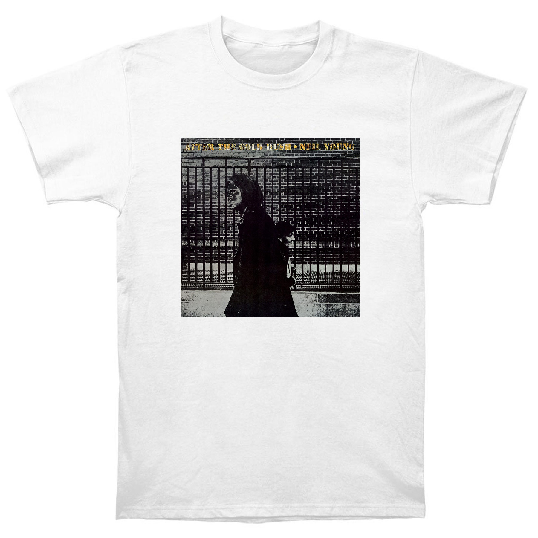 Jay z black t shirt white cross - Neil Young After The Gold Rush T Shirt China Mainland