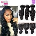 7a não transformados cabelo virgem peruano com lace closure cabelo peruano virgem onda solta 3 pacotes peruano onda solta feixes de cabelo