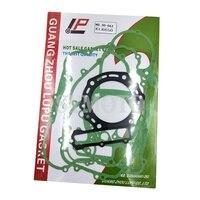 Motorcycle Engine Cylinder Top End Crankcase Cover Complete Gasket Kit Set For Kawasaki KLR650 KLR 650