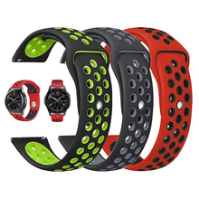 20mm 22mm Sports silicone Band for Samsung Galaxy 46mm 42mm S3 S2 Classic Gear Sport Strap for Huami amazfit bip Huawei Watch 2 20mm 22mm sports silicone band for samsung galaxy 46mm 42mm s3 s2 classic gear sport strap for huami amazfit bip huawei watch 2