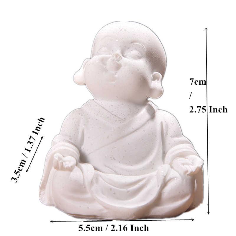 Vilead 6 Cm 7 Cm Nhỏ Dễ Thương Tượng Di Lặc Đá Sa Thạch Đáng Yêu Thái Lan Phật Thần Tài May Mắn Đáng Yêu In Hình Hoa Lá Trang Trí Nhà Sáng Tạo