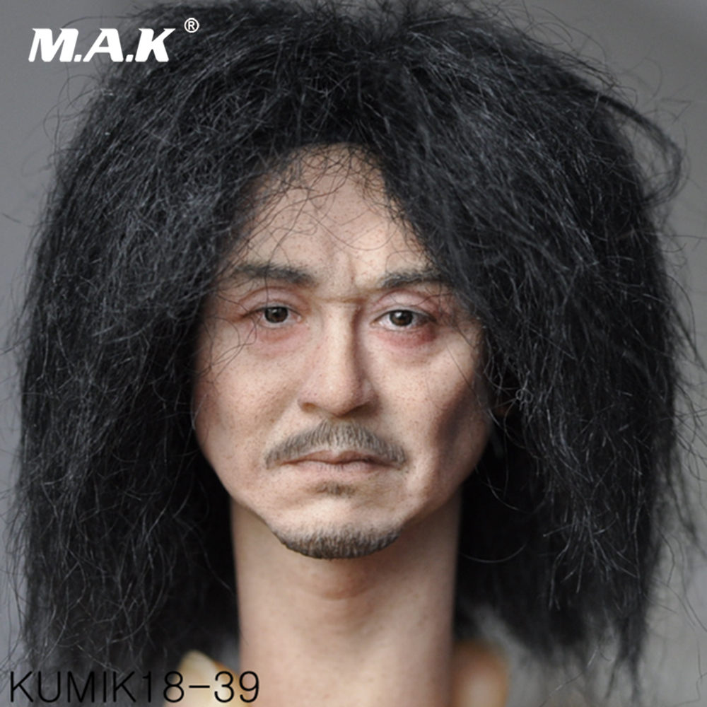 1/6 Scale Male Figure Accessory Kumik KM18-39 Male Paste Head Sculpt Figure Model PVC Hobbies for Collection все цены