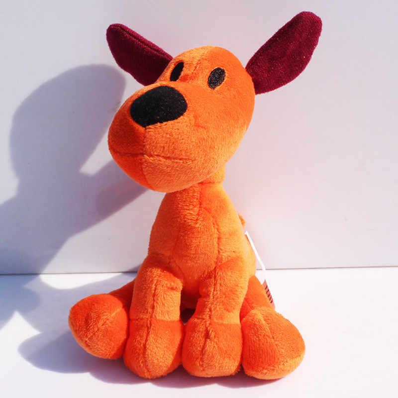 Varejo 1 pcs Loula Pocoyo Boneca Cachorro de Pelúcia Brinquedos de Pelúcia Macia Para Crianças 14 cm Frete Grátis