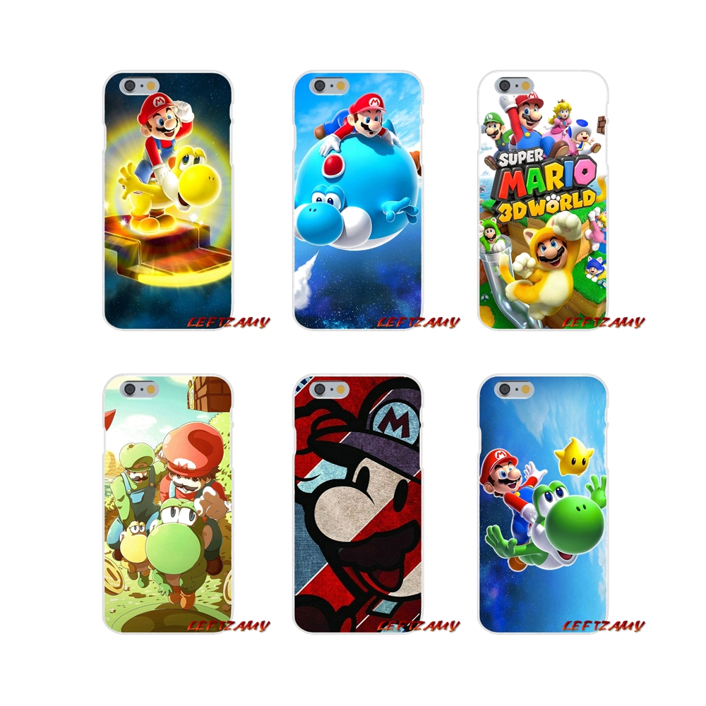 Cute Super Mario Bros Mushrooms For Samsung Galaxy A3 A5 A7 J1 J2 J3 J5 J7 2015 2016 2017 Accessories Phone Cases Covers