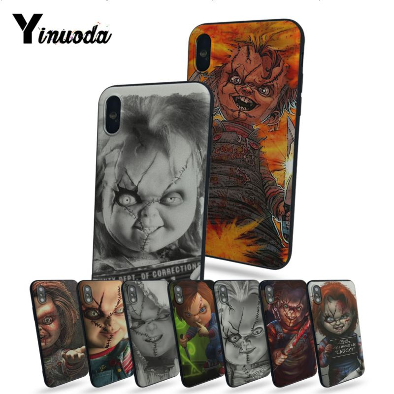 Us 0 66 65 Off Yinuoda Chucky Wallpaper So Cool Nice Phone Cases For Apple Iphone X 8 8plus 7 7plus 6s 6s Plus 5 5s 5c Se In Half Wrapped Cases From