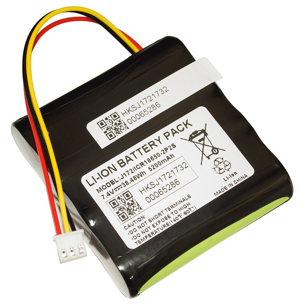 Hixon New <font><b>7.4V</b></font> <font><b>4400mAh</b></font> Replacement <font><b>Battery</b></font> for BRAVEN 850 Speaker-UL UN Certified image