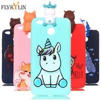 Per Redmi 4X custodia morbida in silicone TPU per Coque Xiaomi Redmi 4A 4X S2 custodia per Redmi 6 6A cover Panda Unicorn custodie per telefoni Caque