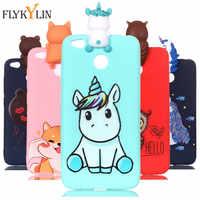For Redmi 4X Soft TPU Silicon Case on For Coque Xiaomi Redmi 4A 4X S2 Case for Redmi 6 6A Covers Panda Unicorn Phone Cases Caque