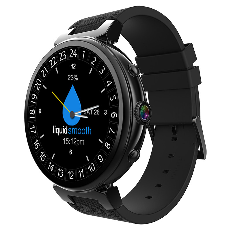 New Waterproof Smart Watch MTk6580 Support SIM SD Card Bluetooth WIFI GPS SMS Camera Watches Cell Phone Bracelet For Android IOS new lf17 smart watch
