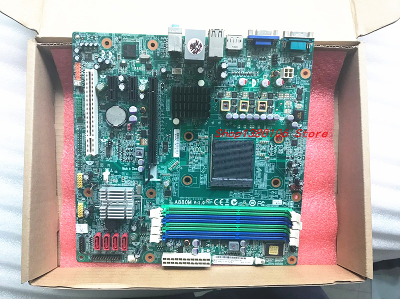 A880M V 1 0 Desktop Motherboard 880G AM3 DDR3 RS880PM LM fit for lenovo ThinkCentre M77