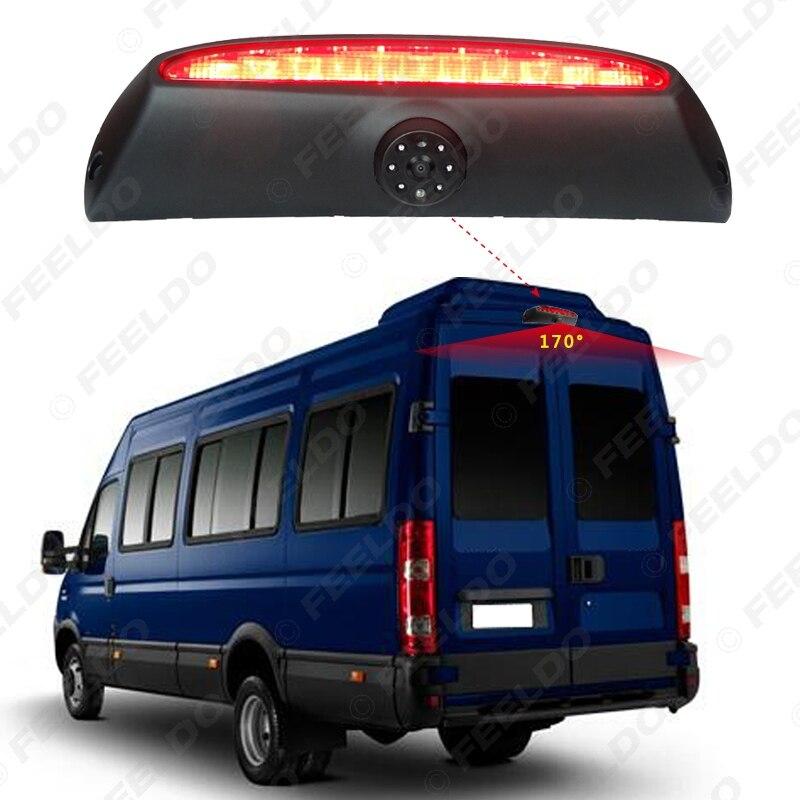 FEELDO Car Reverse Brake Light Backup Camera HD Rear View Camera for IVECO Daily 4 Gen 2011-2014 #FD5376 цена