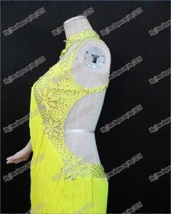 Image 2 - ชุดเต้นรำละติน/W Altz T Angoห้องบอลรูมชุดเต้นรำ,หญิง/หญิงเต้นรำสมัยใหม่/ดำเนินการเครื่องแต่งกาย/สวมใส่LD 0028