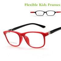 TR90 Children Optical Frame Eyewear Wholesale Eyeglasses 7 Colors Double Color Sports Style Girls Boys