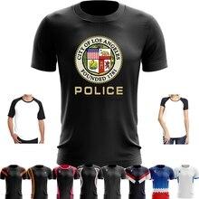 87af3014 Sport Quick Dry Running Shirts Basketball Soccer Training T Shirt Custom  Printed Men T shirt LAPD