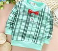 (1piece /lot) 100% cotton 2016 long sleeve    baby boy outerwear 73cm