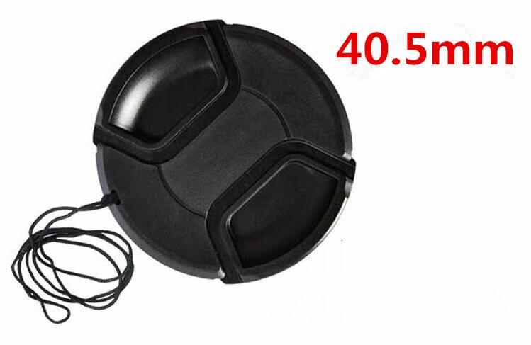 O envio gratuito de 40.5 mm centro pitada Snap on tampa de cobertura para câmera 40.5 mm lente