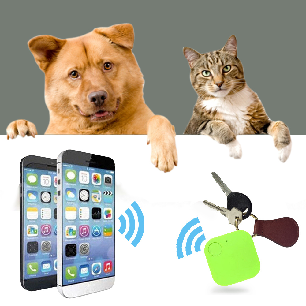 Pet Dog GPS Tracker Transer Anti-Lost Theft Device Alarm Bluetooth Remote Vehicle Child Pets Bag Wallet Bags Handheld Locator