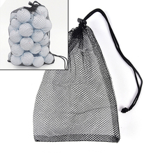 Bag-Pouch Golf-Balls Table-Tennis Carrying-Holder 30--20cm Mesh-Nets Storage-Bags Hold-Up