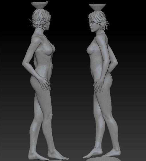 3D Stl Carved Figure Sculpture 3d Model For Cnc Machine In STL File Format Nude Women 3