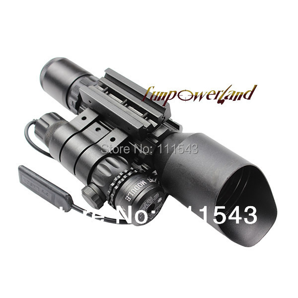 3-10X42+Green laser M9A Tactical rifle scope red green Mil-Dot Reticle with side mounted Green laser/Guaranteed 100% светильник настольный camelion kd 786 c13 голубой led 5 вт 4000к