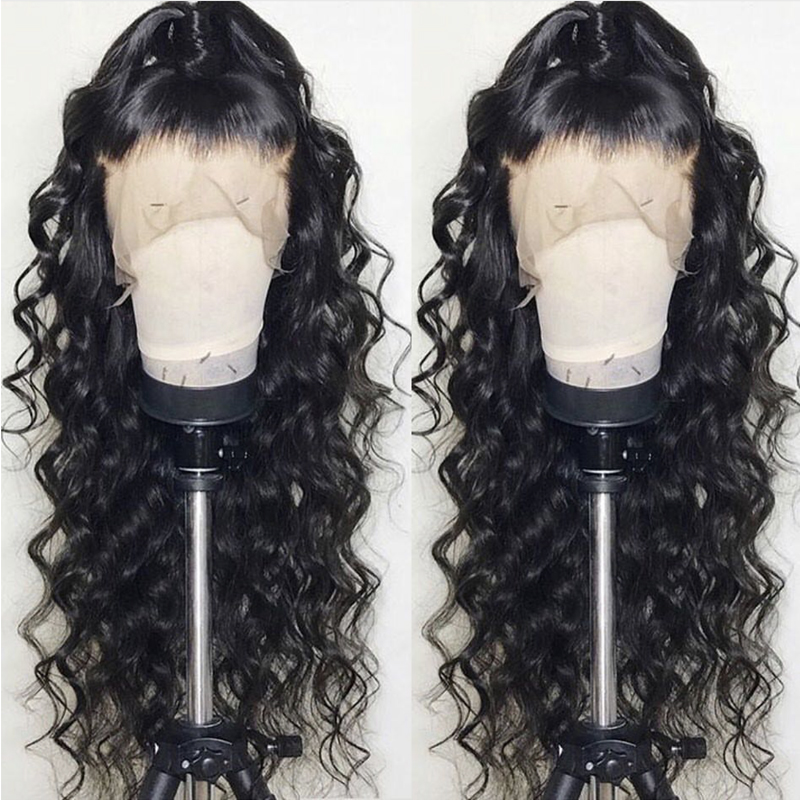 loose hair curly