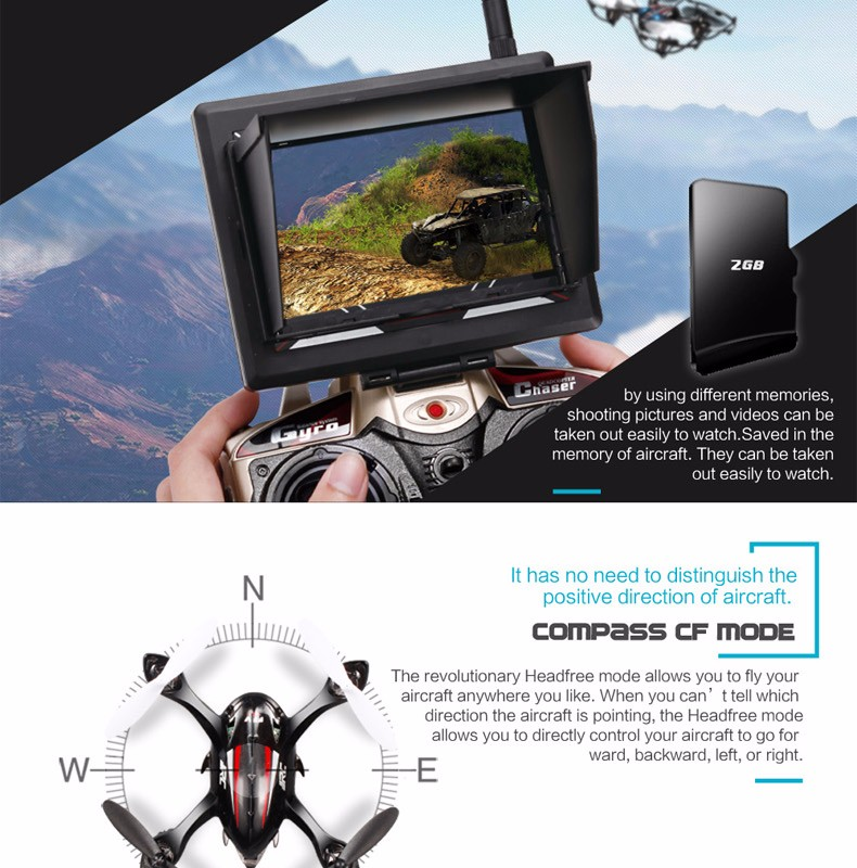 FPV Mini Drones With Camera Hd Jjrc H6d Quadcopters With Camera 4CH Flying Helicopter Camera Professional Drones Rc Dron Copter (5)