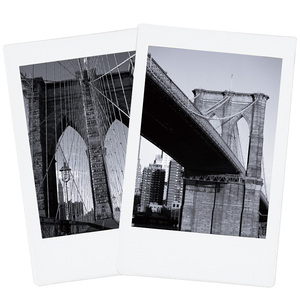 Image 5 - New 10pcs Fujifilm Instax Mini Film Monochrome For Mini 9 8 7s 7 50s 50i 90 25 dw Share SP 1 Polaroid Instant Photo Camera