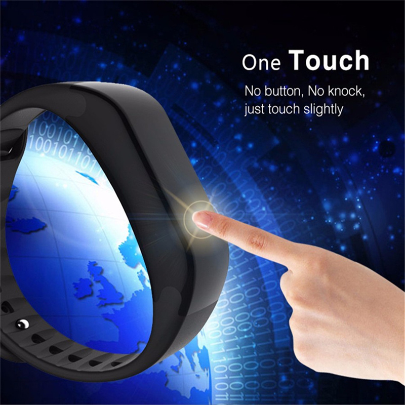 X7 Sports Bluetooth 4.0 Passometer Smartband Heart Rate Tracker Temperature Pressure Monitor Fitness Tracker Bracelet Smart Band