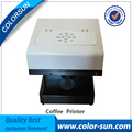 2016 hot sale beverage coffee biscuit cookies food chocolate art design printer with 4 colors 100ml edible ink