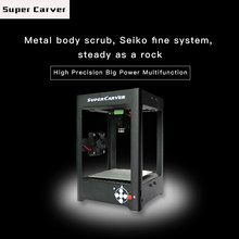 Hot Sale SuperCarver 1000mW USB Laser Engraver Box/Laser Engraving Machine/DIY Laser Printer(China)