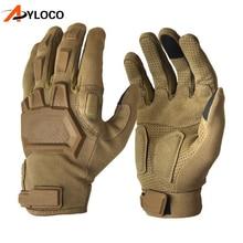Тактические перчатки с сенсорным экраном армейские военные боевые страйкбольные походные альпинистские перчатки для пейнтбола