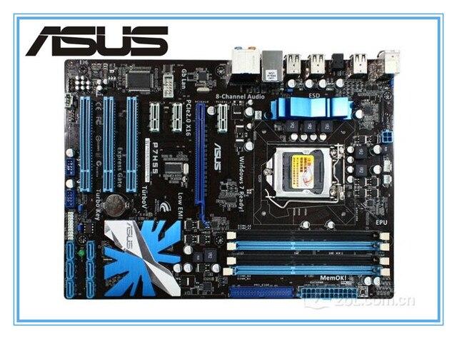 ASUS P7H55 originais motherboard LGA 1156 DDR3 placas para H55 i3 i5 i7 cpu 16 GB USB2.0 Desktop motherboard Livre grátis