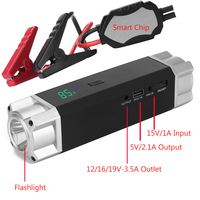 JKCOVER Car Jump Starter 1000A Peak Current Battery Fashionable Battery Booster Diesel Petrol Starting Emergency Auto