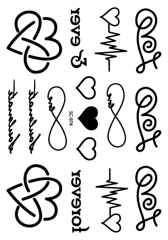 Tattoo Designs Letters