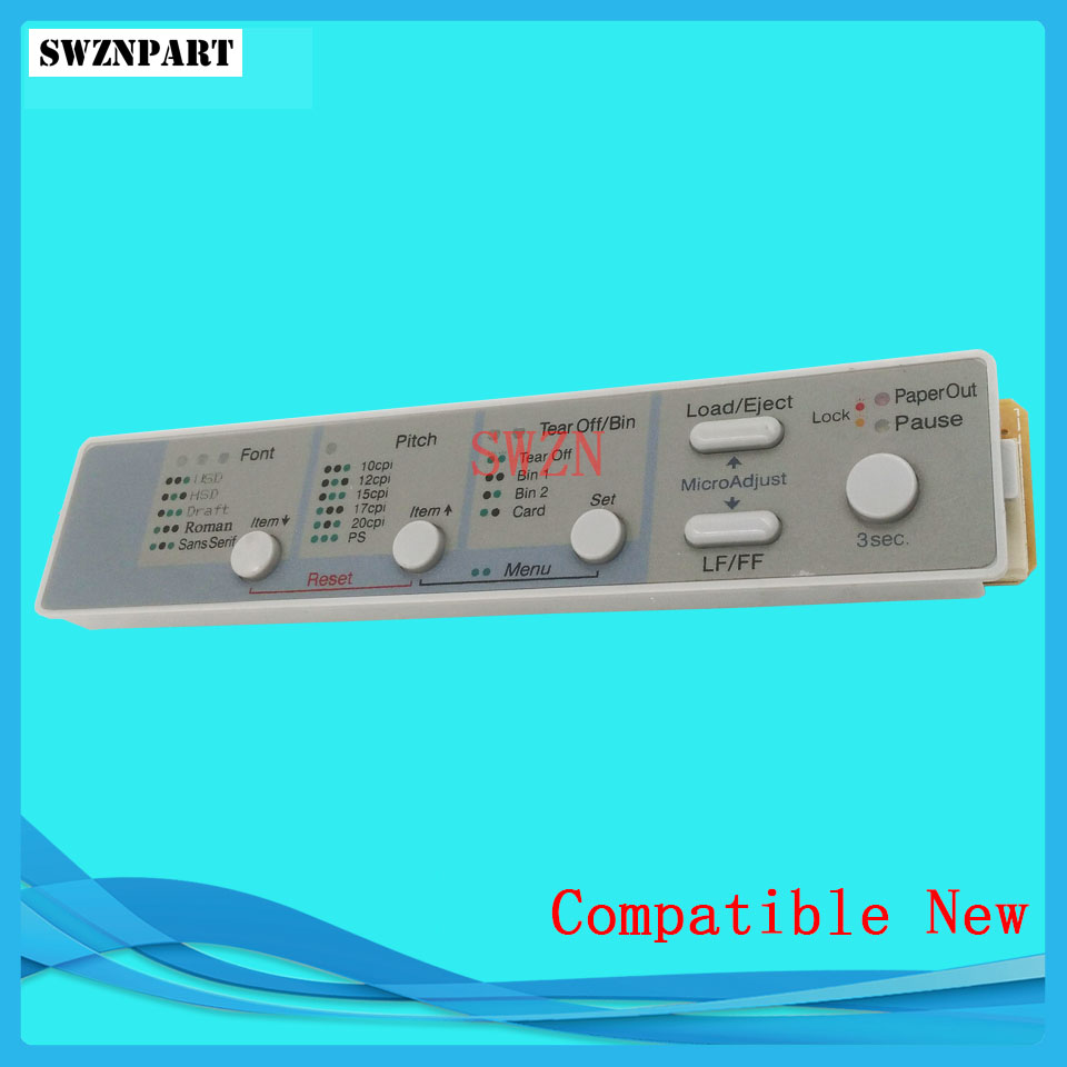Control Panel for Epson FX2190 FX2175 FX890 LQ2090 LQ590 FX2190 Sheet Panel Switch Panel English Version принтер epson fx 2190