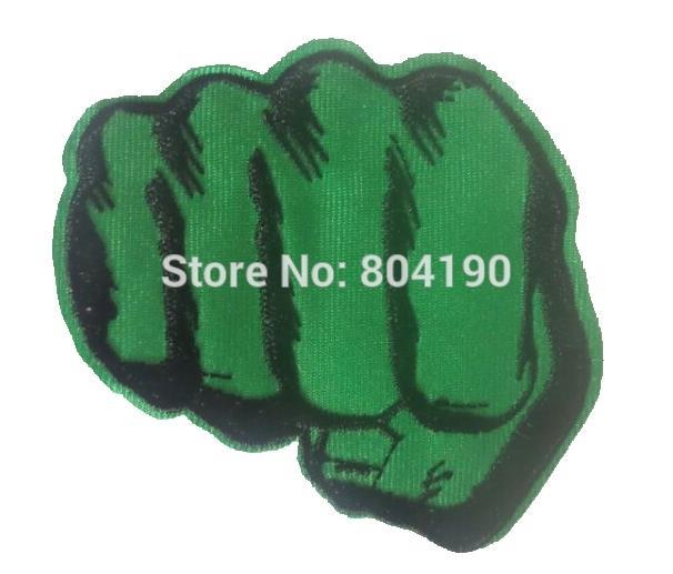 3 1 Punhos The Avengers Incredible Hulk Maos Partido Applique
