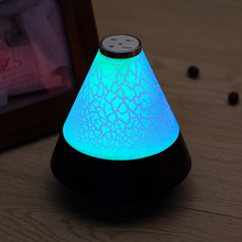 Wireless Bluetooth Speaker Night light with Hands-free Function Touch LED Colorful Light Sound Box Music Player Smart Speakers