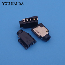 Audio COMBO Jack Connector for Ausu Dell HP Lenovo Laptop etc Headphone MIC Jack , PCB to Top H 1.8mm